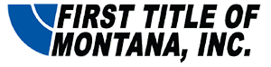 First Title of Montana Logo
